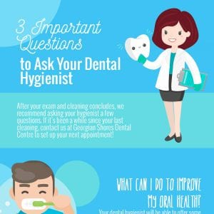 3 Important Questions to Ask Your Dental Hygienist [infographic]